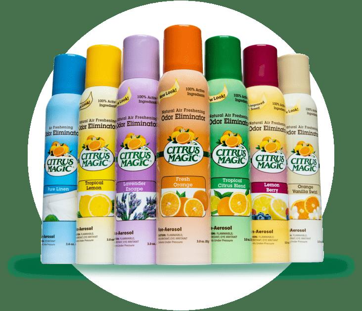 Citrus Magic Air Freshener Products