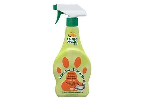 cat litter odor eliminator spray
