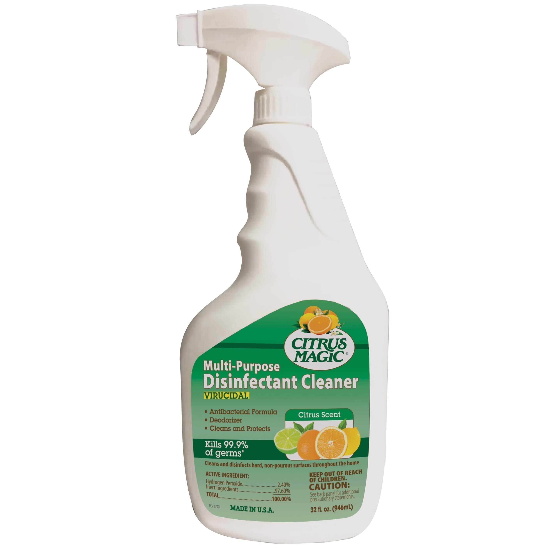 Citrus Magic Multi-Purpose Disinfectant Cleaner, Citrus
