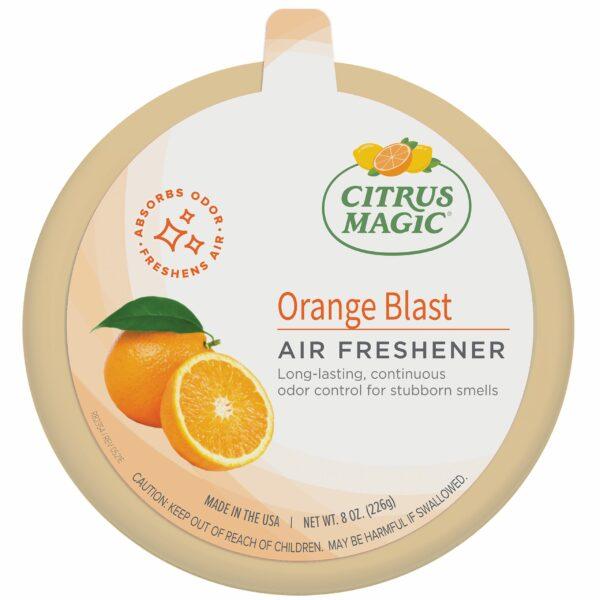 Citrus Magic Odor Absorbing Solid Air Freshener, Orange Blast