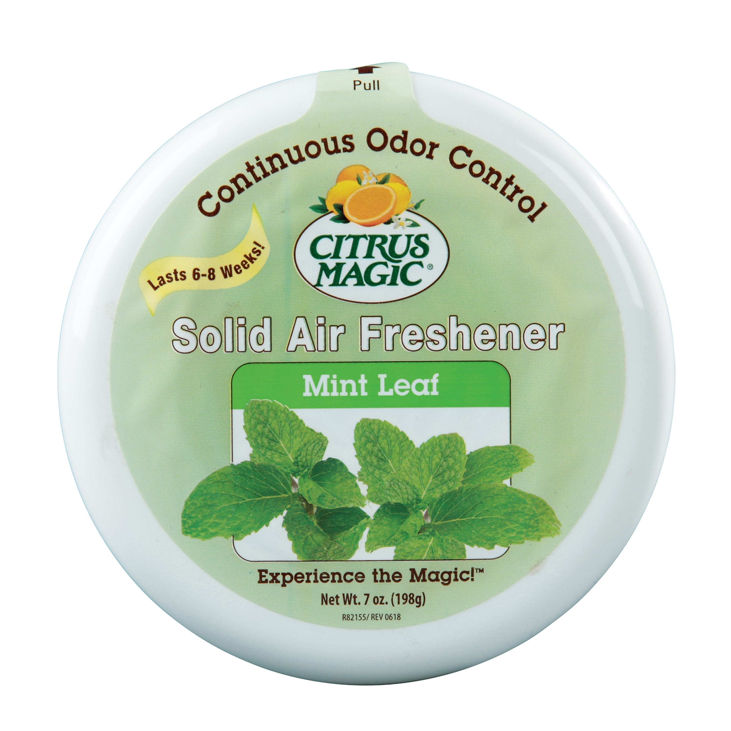 Citrus Magic Odor Absorbing Solid Air Freshener, Mint Leaf
