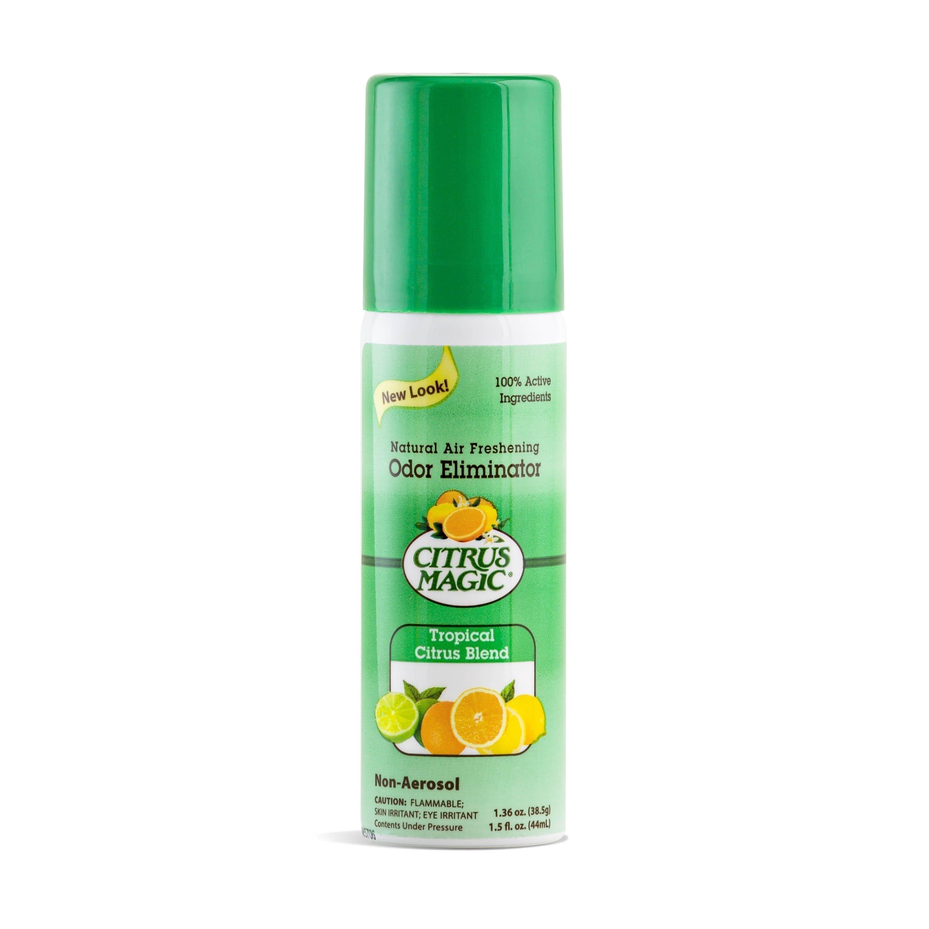 Citrus Magic Natural Odor Eliminating Air Freshener Spray, Tropical Citrus Blend