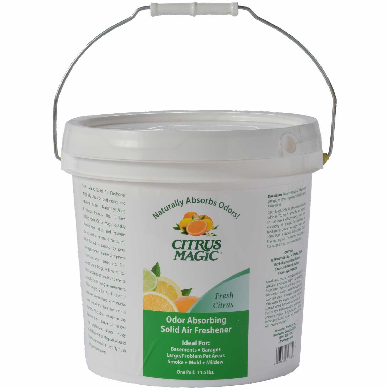 Citrus Magic Odor Absorbing Solid Air Freshener, Fresh Citrus