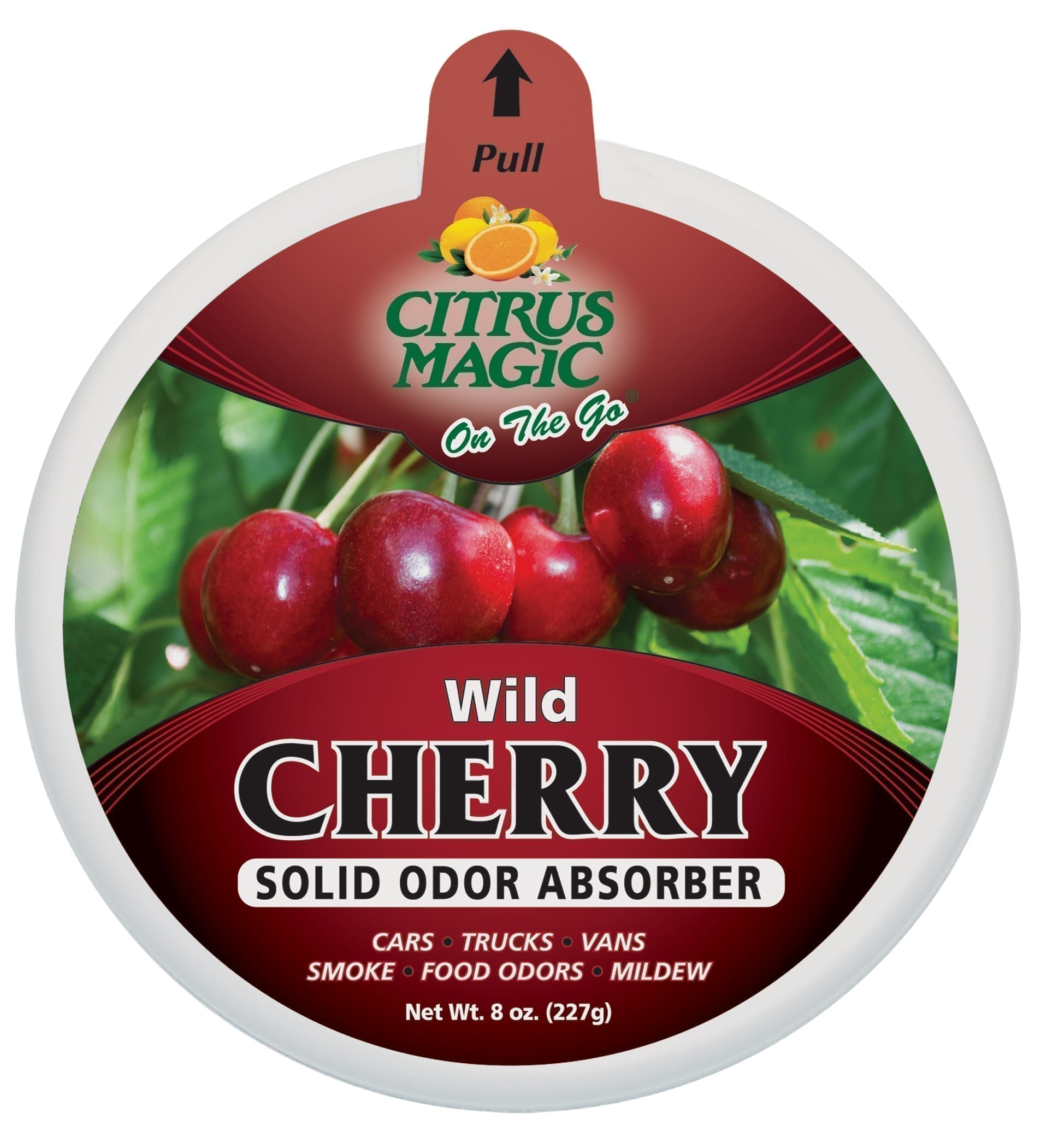 Citrus Magic On The Go Odor Absorbing Solid Air Freshener, Wild Cherry
