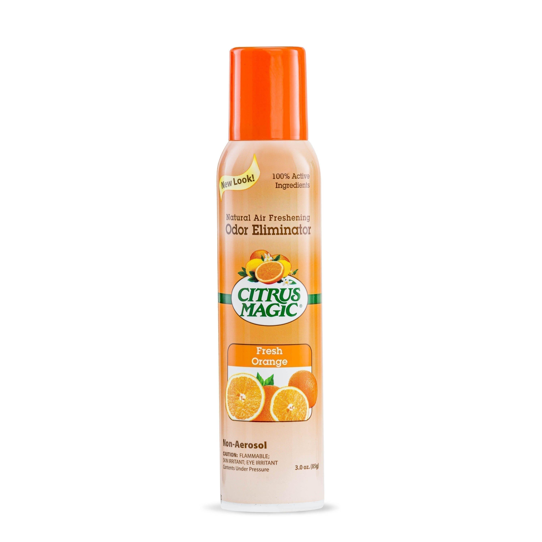 Citrus Magic Natural Odor Eliminating Air Freshener Spray, Fresh Orange