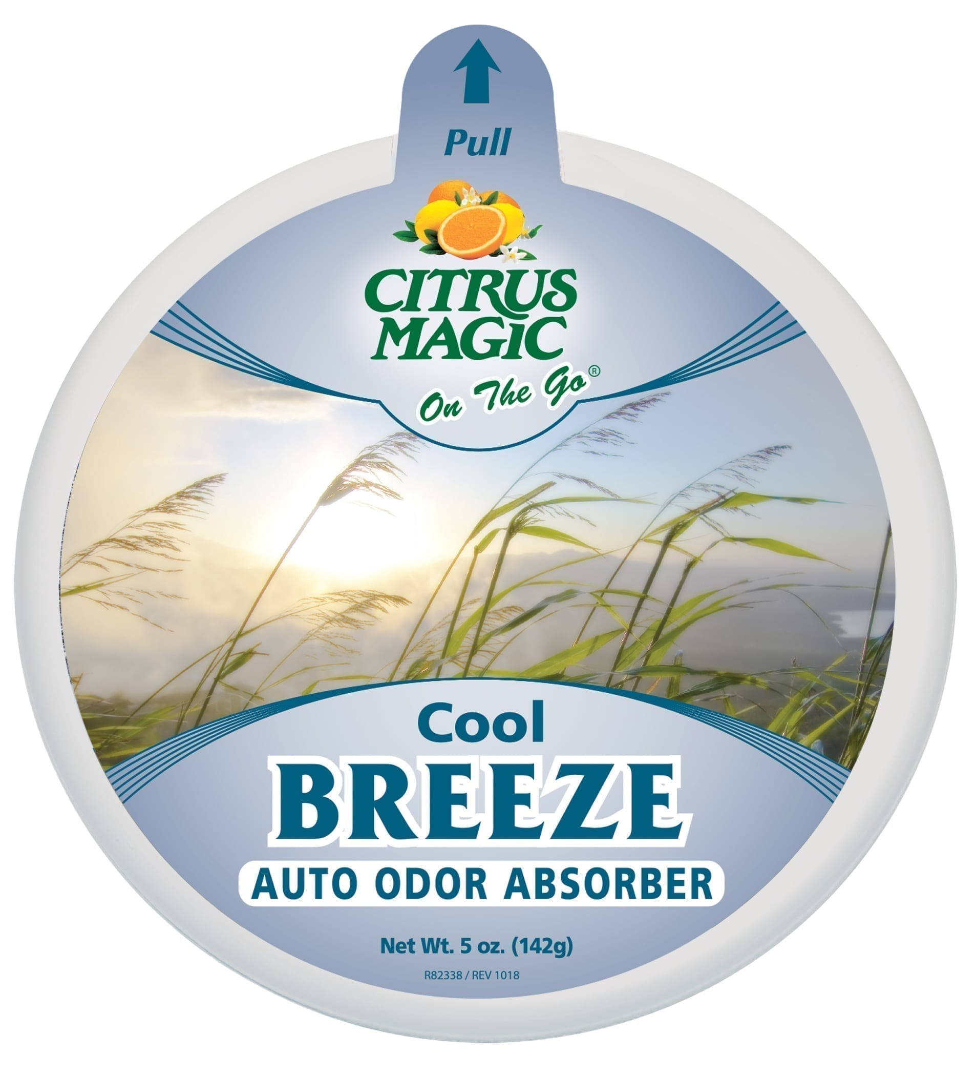 Citrus Magic On The Go Odor Absorbing Solid Air Freshener, Cool Breeze\
