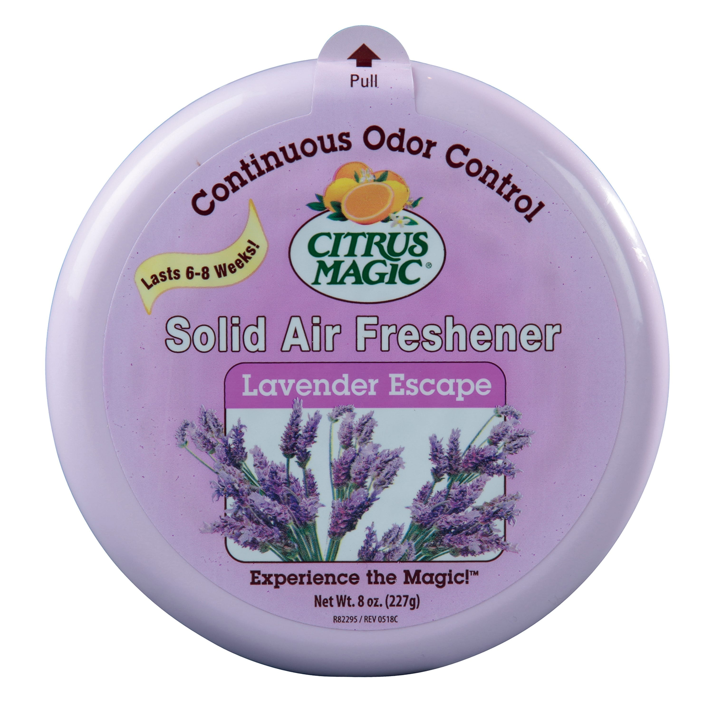 Citrus Magic Odor Absorbing Solid Air Freshener, Lavender Escape