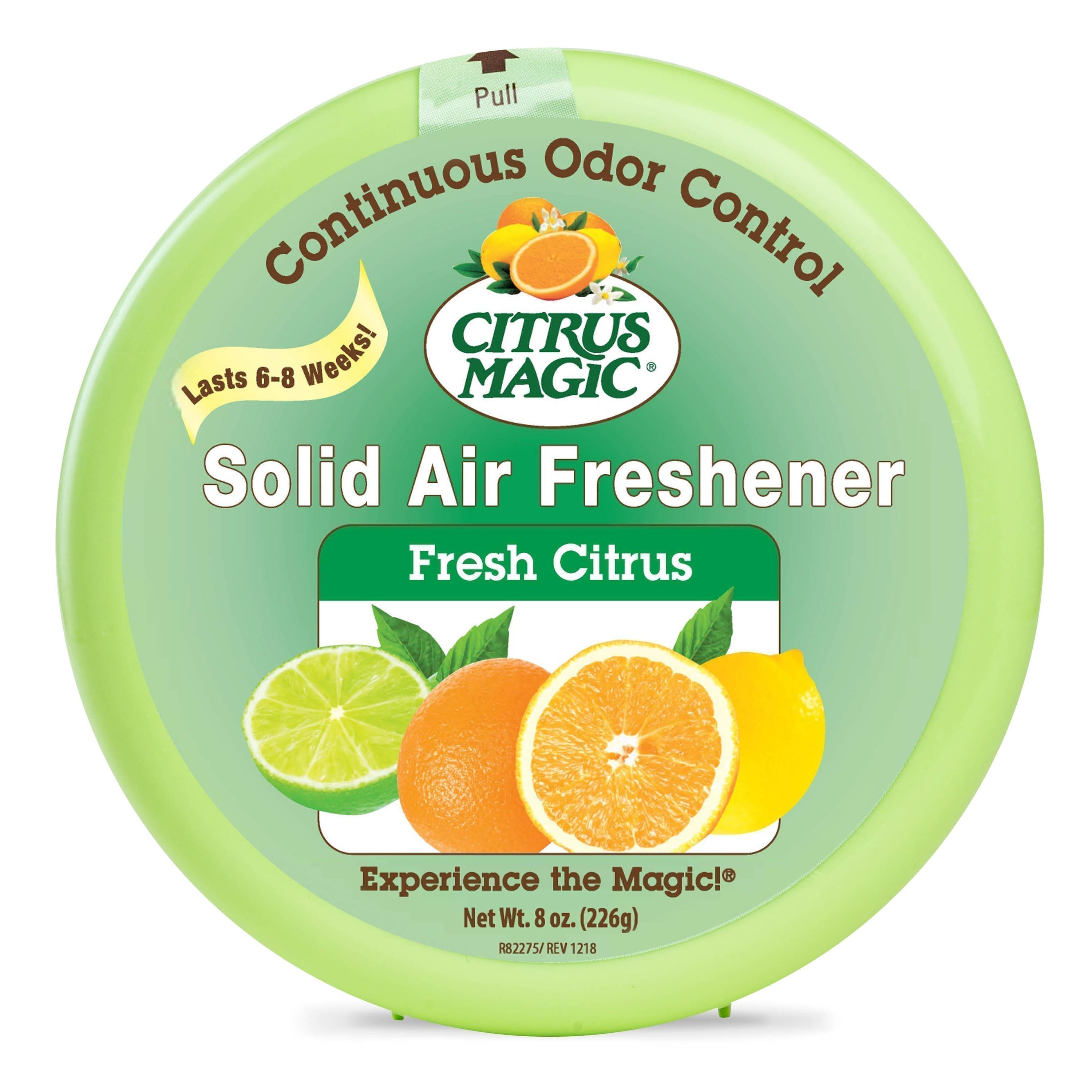 Citrus Magic Odor Absorbing Solid Air Freshener, Fresh Citrus